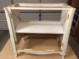 laundry hamper furniture vintage cabinet turned laundry hamper restoration redoux