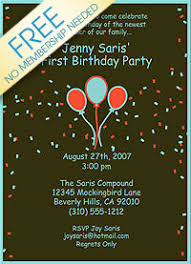 invitationland printable birthday invitations