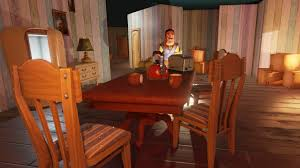 the dining room play hello neighbor xbox