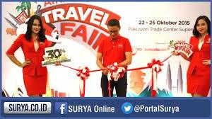 airasia travel fair ada diskon hingga 40 persen di airasia travel fair surya