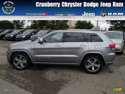 jeep billet silver 2014 billet silver metallic jeep grand cherokee overland 4x4