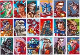 star wars sketch cards part 1 by chad73 on deviantart