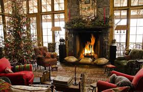 pictures of homes decorated for christmas on the inside nice home