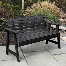 Eco Outdoor Furniture by Highwood Weatherly 5 Foot Eco Friendly Marine Grade Synthetic Wood
