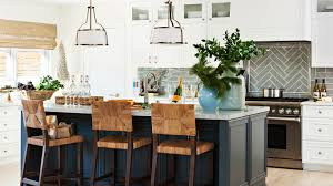 navy blue kitchen island ideas how to choose the right kitchen island cottage style