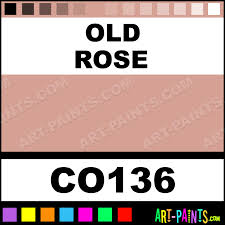 old rose bisque ceramic porcelain paints co136 old rose paint