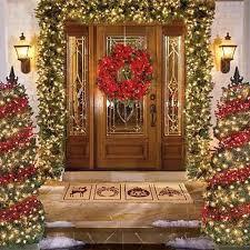 lighted christmas tree garland traditional christmas decoration forwedding us christmas ideas