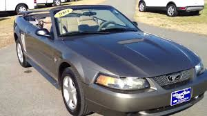 01 mustang convertible top 2001 ford mustang convertible mineral gray for sale