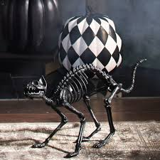 lifesize black skeleton cat so that u0027s cool
