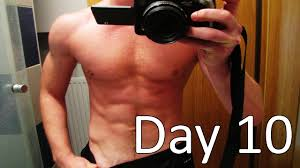 After Challenge Before And After 300 Push Ups A Day For 10 Days Challenge Day