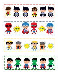 preschool printables super hero u0027s pattern cards summer reading