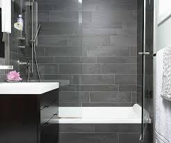slate tile bathroom ideas positive bathroom gray slate tile 6 grey shower hedia