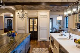 pictures of white kitchen cabinets with island large white kitchen with blue island cabinets