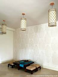Floral Wall Stencils For Bedrooms 84 Best Indian Stencils U0026 Design Images On Pinterest Wall