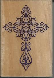 cross st wood mounted by cynthiascraftingnook