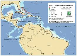 Map Of Central America And South America by Intertropical Americas Map Central America U2022 Mappery