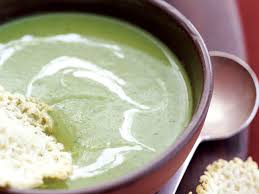 thanksgiving peas sweet pea soup with majorero cream and roncal crisps recipe