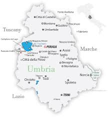 provinces of italy map umbria maps and travel guide wandering italy