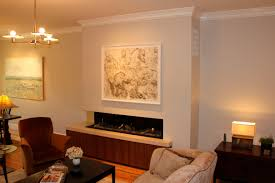 art over fireplace ortals cold wall technology allows you to hang