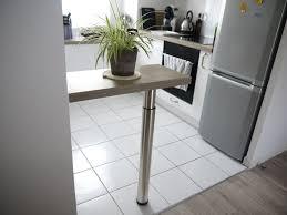 fabriquer une table haute de cuisine faire un bar de cuisine linzlovesyou linzlovesyou