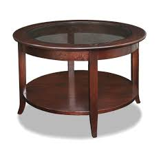 Cheap Coffee Tables by Furniture Leick Varnished Wood Small Round Coffee Table With