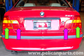 2004 bmw 330i tail lights bmw e46 rear tail light replacement bmw 325i 2001 2005 bmw