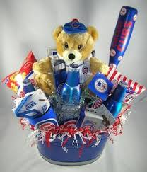 chicago gift baskets go cubbies chicago cubs gift basket projects