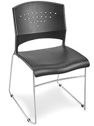 stackable chair in stock uline
