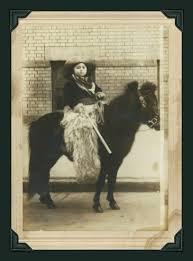 Vintage photos of children on ponies
