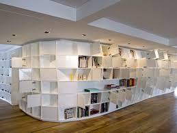 Interesting Bookshelves by Z District U2013 Curved Bookshelves