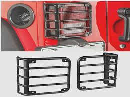 rugged ridge elite tail light guards rugged ridge elite tail light guards for 07 18 jeep wrangler jk