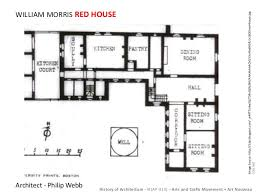 The Red Cottage Floor Plans by Arts U0026 Crafts
