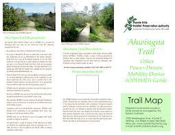 Rose Hills Map Trails Habitat Authority