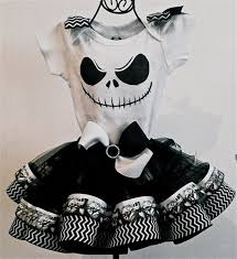 skellington ribbon tutu set fairytalegirl on artfire