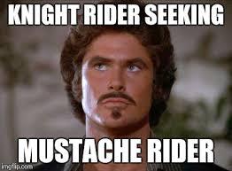 Meme Mustache - mustache rider imgflip