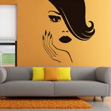 popular beautiful ladies stickers buy cheap beautiful ladies beauty sexy lady vinyl wall stickers home decor for living room self adhesive wallpaper home decor