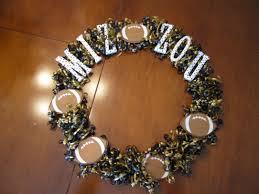 show some spirit mizzou football wreath how to nest for less