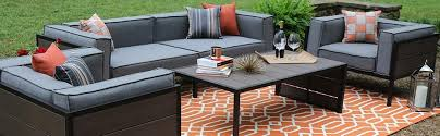 Sunbrella Patio Chairs by Amazon Com Ae Outdoor Manhattan 4 Piece Deep Seating With