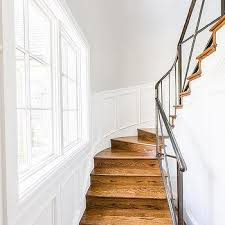 Winding Staircase Design Staircase Wainscoting Design Ideas