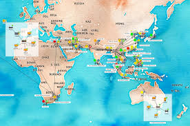 Java World Map by Press Releases Tom Sawyer Software