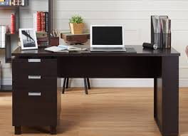 Modern Espresso Desk Office Desk Adjustable Office Desk L Shaped Office Desk Computer