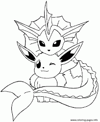 pokemon coloring pages vaporeon mobile coloring pokemon coloring