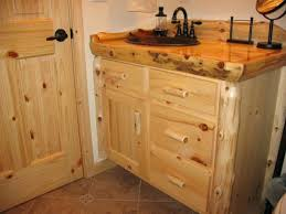 Pine Bathroom Vanity Cabinets Knotty Pine Bathroom Cabinet Vice Single Bathroom Vanity Set