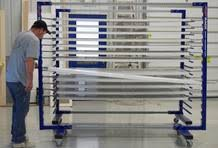 Cabinet Door Drying Rack Manufactures And Sells Finishing Equipment To The Wood Finishing