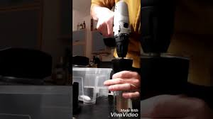 Hario Mini Mill Slim Coffee Grinder Grinding Coffee With Hario Mini Mill And Battery Drill Youtube
