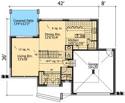 house plans with rooftop decks roof deck on contemporary home plan 90231pd architectural