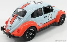 baby blue volkswagen beetle greenlight 12994 scale 1 18 volkswagen beetle n 54 gulf oil 1951