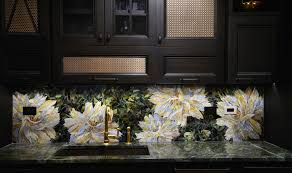 Stained Glass Backsplash by John Legend And Chrissy Teigen Kitchens Atticmag