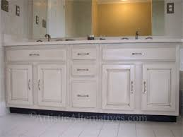 how to paint bathroom cabinets ideas how to antique bathroom cabinets with paint nrtradiant com