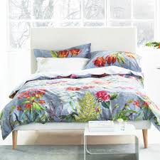Grey Double Duvet Set Tulipani Double Duvet Cover In Graphite At Bedeck 1951